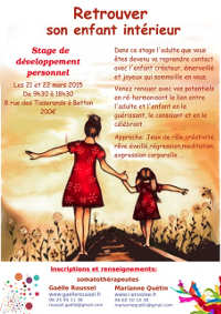 stage enfant interieur 2015 Betton